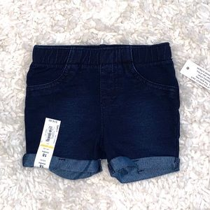 3/$25 SALE Jumping Beans Baby Girl Cuffed Shorts